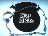 Inel Lord Of The Rings Placat cu Aur 18k + Lantisor Inox