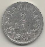 ROMANIA  2  LEI  1875   [2]  AG  ,  livrare  in  cartonas, Argint