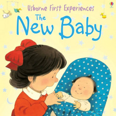 First Experience The New Baby - Carte Usborne (2+) - Carte educativa