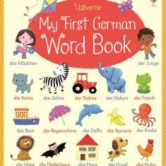My First German Word Book - Carte Usborne (4+) - Carte educativa