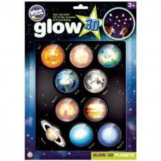 Stickere 3D - Planete The Original Glowstars Company B8101