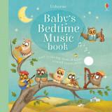 Babys Bedtime Music Book - Carte Usborne (0+) - Carte educativa