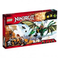 LEGO NINJAGO Dragonul verde NRG 70593