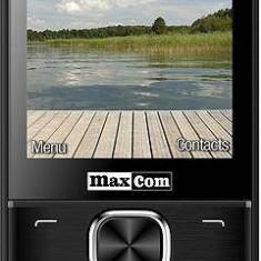 Telefon Mobil MaxCom MM237, TFT 2.8, Dual Sim, 2G (Negru)
