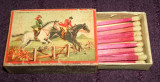 Calarie - Chibriturile S.A.R. 1935, chibrituri romanesti din lemn, cu bete