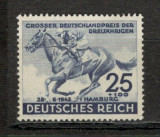 Deutsches Reich.1942 Cursa de cai  AZ.118, Nestampilat