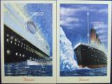 TAJIKISTAN - TITANIC, 2 S/S, NEOB. -  T 030A