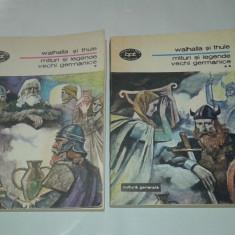 MITURI SI LEGENDE VECHI GERMANICE Vol.1.2. - Carte mitologie