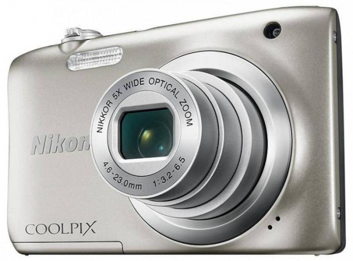 Aparat foto Nikon Coolpix A100, argintiu [ VNA970E1 ] foto mare