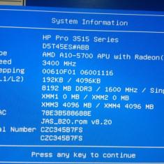 Calculator gaming - Sisteme desktop fara monitor AMD, AMD A10