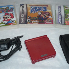 GameBoy Advance SP - Consola Nintendo, Game Boy Advanced