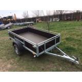 Remorca auto mono ax 750 kg 2.4 m x 1.35m *in rate *pe stoc* - Utilitare auto