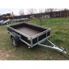 Remorca auto mono ax 750 kg 2.4 m x 1.35m *in rate *pe stoc*