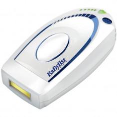 Epilator IPL HomeLight Babyliss G932E, 50.000 impulsuri, 5 setari de intensitate, Alb
