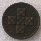 P2. Portugalia 20 centavos 1960 **, Europa