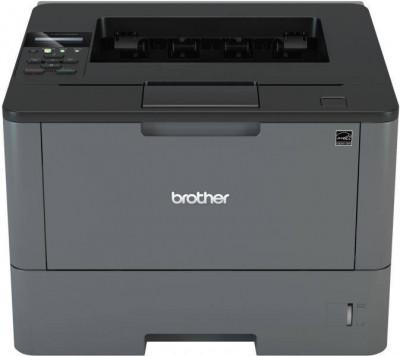 Brother HLL5100DN, Imprimanta mono laser A4, viteza printare: 40 ppm, rezolutie printare: 1200 x 1200 dpi, fpo: 7.2 sec, memorie: 256 MB foto
