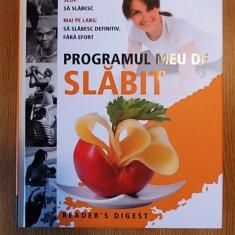 PROGRAMUL MEU DE SLABIT- READER'S DIGEST- 2012- cartonata - Carte Alimentatie