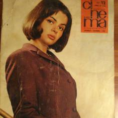 Revista CINEMA - decembrie -1965 - Revista culturale