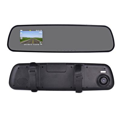 Oglinda retrovizoare cu camera video, full HD foto
