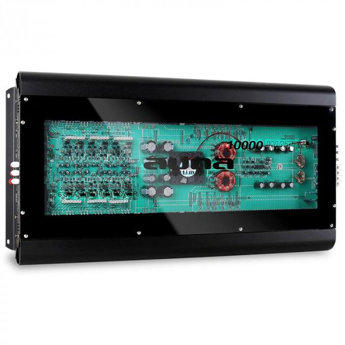 Amplificator de mașină AUNA W1F-10000W 6Canale MOSFET foto mare