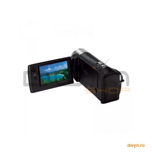 Camera Video Sony HDR-CX240E Black, senzor CMOS Exmor R, lentile superangulare Carl Zeiss Vario-Tess foto mare