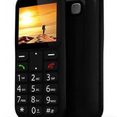 Telefon pentru vârstnici BeeX Senior Plus, negru