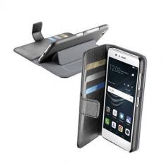 Husa Flip Cover Cellularline BOOKAGENDAP9LITEK Agenda Negru pentru HUAWEI P9 Lite - Husa Telefon