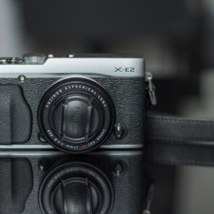 Fujifilm X-E2 + FUJINON XF 27mm F2.8 - Aparate foto Mirrorless