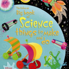 Big Book of Science things to make and do - Usborne book (4+)
