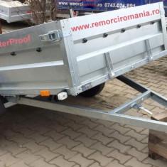 Remorci/Remorca auto mono ax 750 kg 2.6 m x 1.35 m– *in rate *pe stoc*