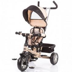 Tricicleta cu Copertina Twister 2015 Beige - Tricicleta copii Chipolino