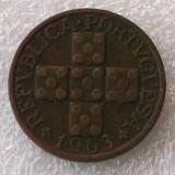 P2. Portugalia 20 centavos 1963 **, Europa