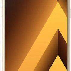 Telefon Mobil Samsung A520 Galaxy A5 (2017), 32GB Flash, 3GB RAM, Single SIM, 4G, Gold Sand - Telefon Samsung