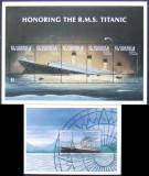 ST VINCENT&THE GRANADINES - TITANIC, 2003, 1 M/SH + 1 S/S, NEOB. -  T 026