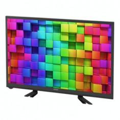 Televizor LED, UTOK U24HD3, 61 cm (24 inch), HD Ready, HDMI, USB, Slot CI+, Negru