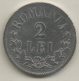 ROMANIA  2  LEI  1875   [1]  Argint 835 / 1000   ,  livrare  in  cartonas