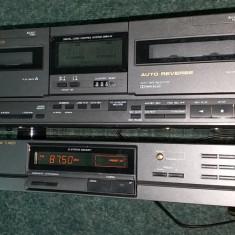 Radio Tuner Vintage Universum + Dublu Deck Universum - Aparat radio Universium, Digital, 0-40 W