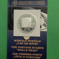 2008.05.05 -  CAP DE BOUR , primelor mărci poştale româneşti