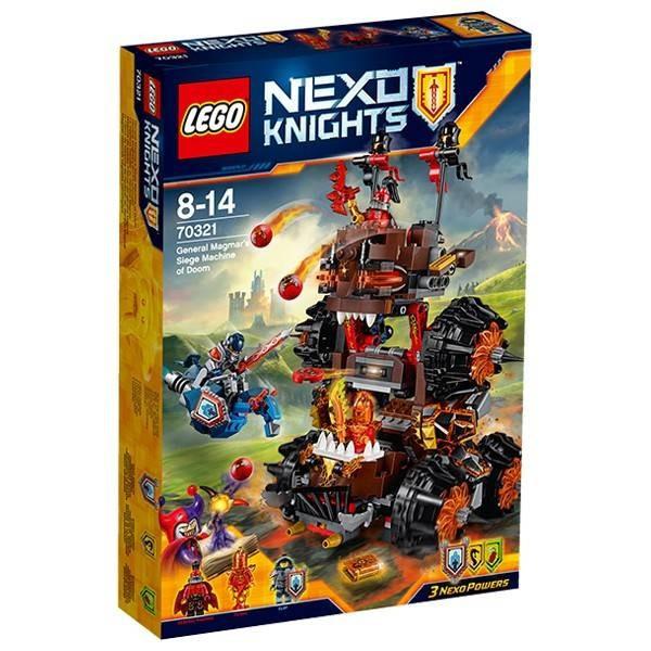 Maşină asediu fatal LEGO ® Nexo Knights Magmar 70321 foto mare