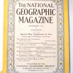 THE NATIONAL GEOGRAPHIC MAGAZINE, DECEMBER 1933