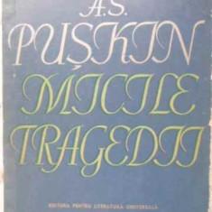 Micile Tragedii - A.s. Puskin, 406468 - Carte Teatru