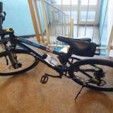 Bicicleta - MTB ROCKRIDER 520 27,5 Albastru