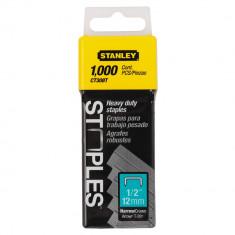 Capse pentru cabluri tip CT300 12 mm 1000 bucati STANLEY - Cui
