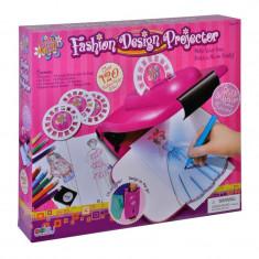 Proiector pentru desen Trendy Girl, accesorii incluse - Jocuri Forme si culori