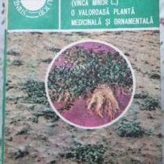 Saschiul Mic (vinca Minor L.) O Valoroasa Planta Medicinala S - Ion Roventa Domnica Roventa, 406665 - Carte Medicina alternativa