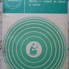Nutria - Animal De Blana Si Carne - I. Petrescu, 406634 - Carti Agronomie