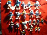 Set 23 Figurine  Strumpfi,  plastic , diferiti