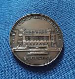 Medalie Casa Centrala a Armatei - CCA - patina superba