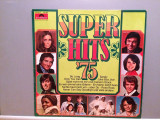 SUPER HITS '75 - VARIOUS  (1975/POLYDOR/RFG) - Vinil/Analog/Impecabil(NM-), universal records