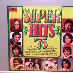 SUPER HITS '75 - VARIOUS (1975/POLYDOR/RFG) - Vinil/Analog/Impecabil(NM-) - Muzica Pop universal records